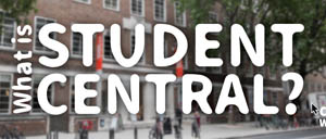 Visit our new Student Central web page
